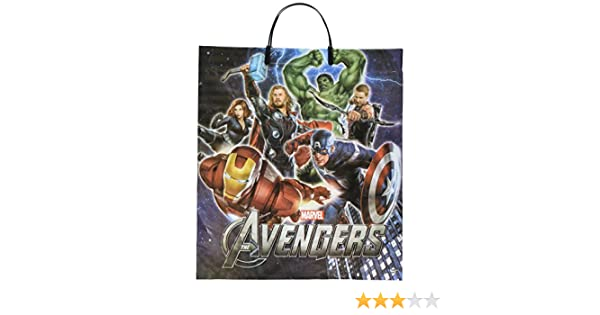 379883 16 x 14 Multicolor 16 x 14 TradeMart Inc Amscan The Avengers Birthday Treat Bags