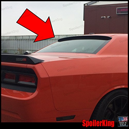 SpoilerKing Rear Window Roof Spoiler compatible with Dodge Challenger 2008-on ()