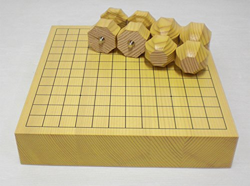 囲碁盤 新かや碁盤 13路 脚付兼用卓上碁盤2寸・新榧(接合盤)G13-1004-u 梅商碁盤店