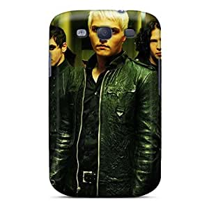 Scratch Resistant Hard Cell-phone Cases For Samsung Galaxy S3 With Support Your Personal Customized Realistic My Chemical Romance Band Pattern CharlesPoirier