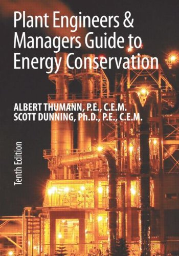 Download Plant Engineers and Managers Guide to Energy Conservation pdf