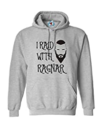 Reality Glitch Men's I Ride with Ragnar Hoodie