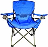 Highlander Outdoor Lumbar Support Chair, Blue
