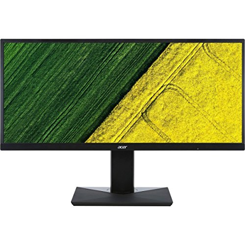 "Acer CB351C bmidphzx 35"" Ultra-Wide Gaming Professional Monitor, 2560x1080, 4ms (GTG) Response Time, Adaptive Sync, DisplayPort, HDMI, USB 3.0, Swivel / Height Adjustable, VESA Compatible"