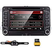 EinCar Double 2 Din 7 Inch Size Car Stereo DVD GPS Nav Radio for VW Passat t5 Golf MK5 Jetta+ Camera