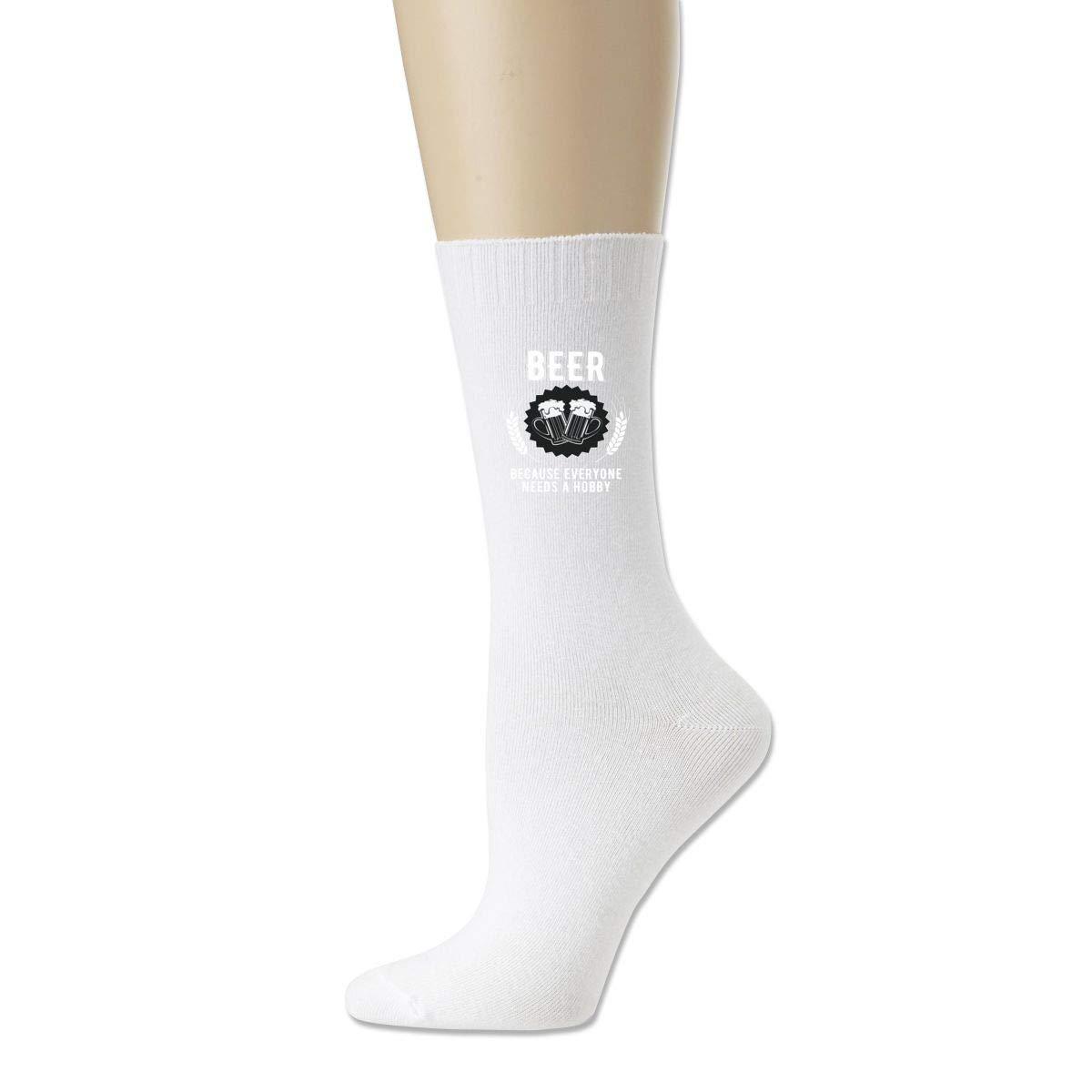 Rigg-socks Beer Drinker For Men Comfortable Sport Socks White