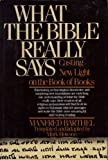 What Bible Really Says, Manfred Barthel, 0688008216