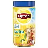 Lipton Black Iced Tea Mix Diet Lemon 15 qt, 4.4 oz. (Pack of 2)
