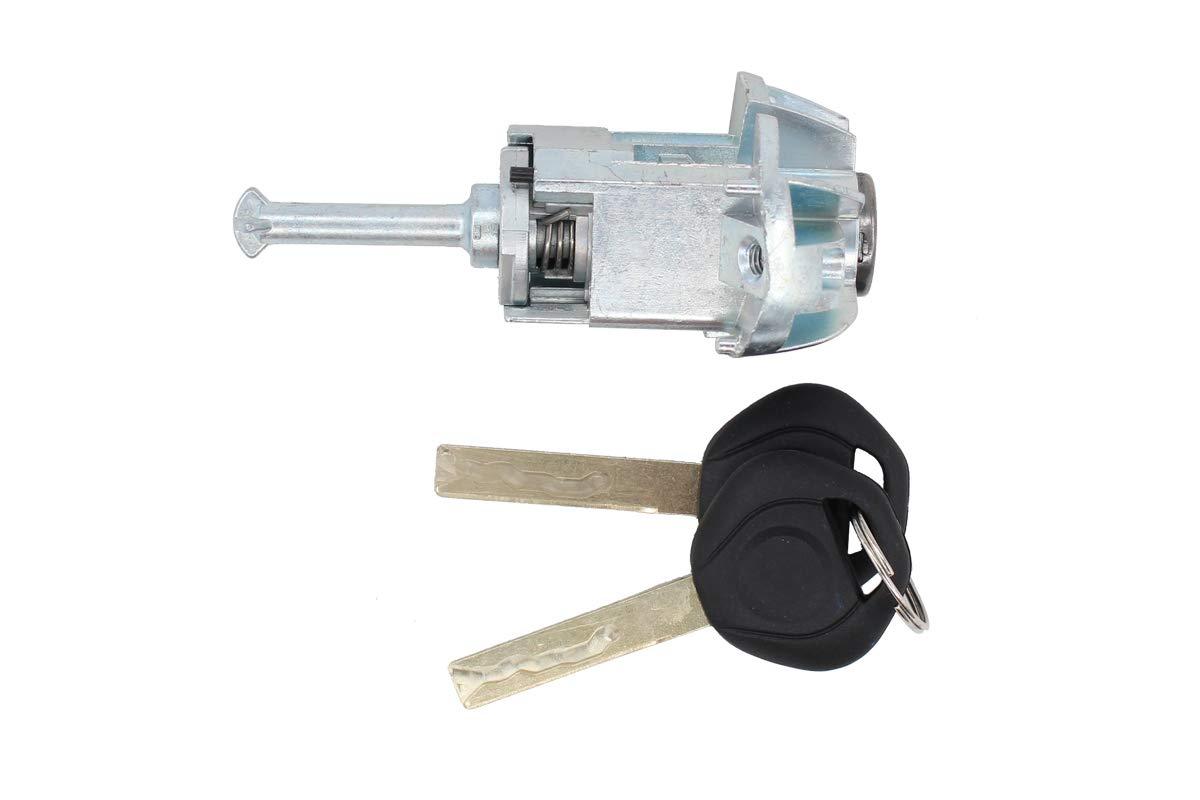 NewYall Front Left LH Driver Side Door Lock Cylinder Barrel w/ 2 Keys