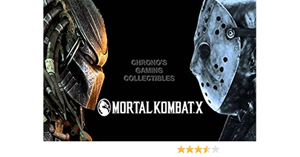 Amazon.com: CGC Huge Poster - Mortal Kombat X Predator VS Jason PS3 PS4 XBOX 360 ONE - MKX022 (24