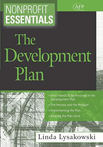 Nonprofit Essentials the Development Plan
