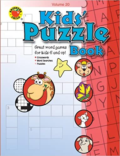 Kids' Puzzle Book (Kid's Puzzle Book): School Specialty Publishing ...
