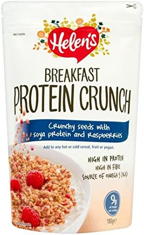 GF desayuno Crunch proteína de Helen con frambuesas 185g ...