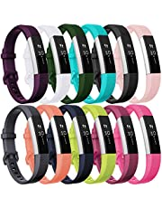 HUMENN For Fitbit Alta HR Strap, Adjustable Replacement Sport Accessory Wristband Strap for Fitbit Alta/Alta HR/Kids Ace Fitness Tracker Small Large 15 Colours