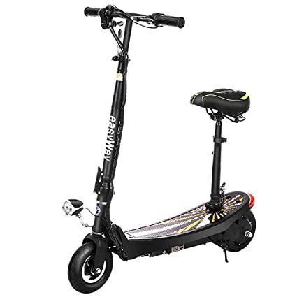 A&DW Scooter eléctrico Plegable Mejorado, Scooter móvil de ...