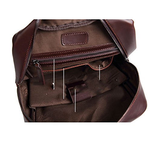 Ladies impermeable mochilas bolsa de hombro senderismo escuela Mochilas de Piel Sintética Mujer