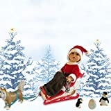 The New York Doll Collection E140 18 Inch Doll Holiday Sleigh Set - Doll Accessory Set - Fits American Girl Dolls (Pack of 11)
