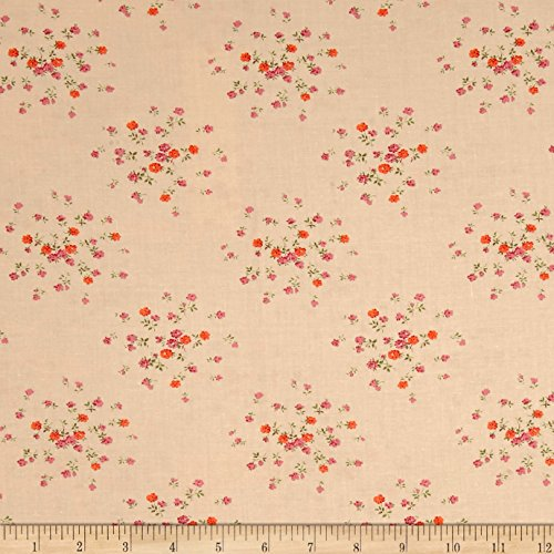Fabric Traditions Verna Mosquera Autumn Grace Sprinkled Rosebuds Sugar Yard