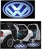 Automaze Ghost Shadow Light For Volkswagen Cars | Door Welcome Light | Car Logo LED | Door Projector LED