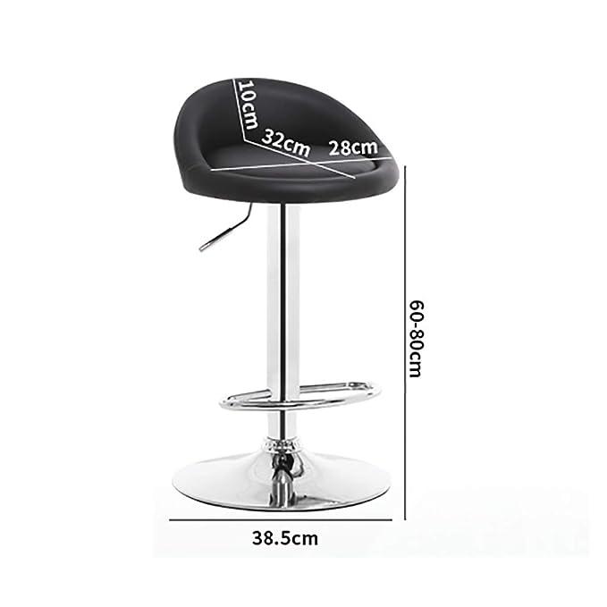 Amazon.com: Bar Chair Bar Chair Metal Rotary Lift Chair ...