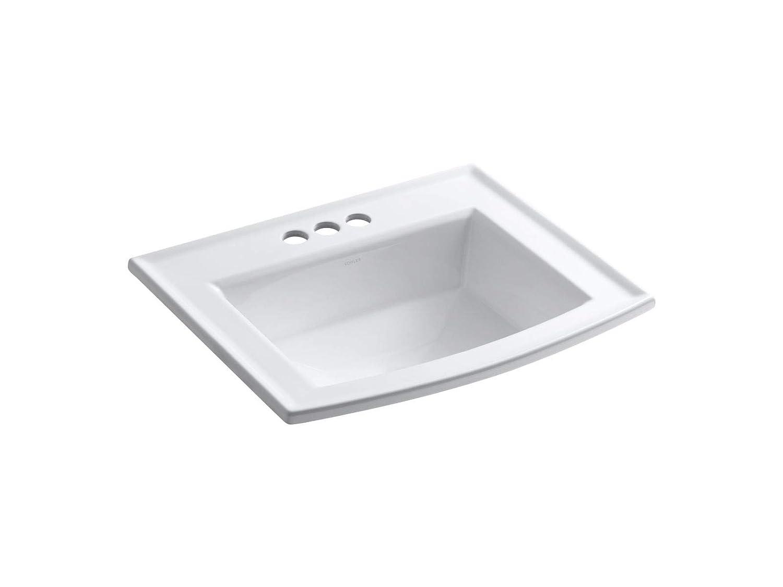 Kohler K-2356-4-0 Utility Sinks, 22-5 8 Length x 19-7 16 Width x 7-7 8 Depth, White