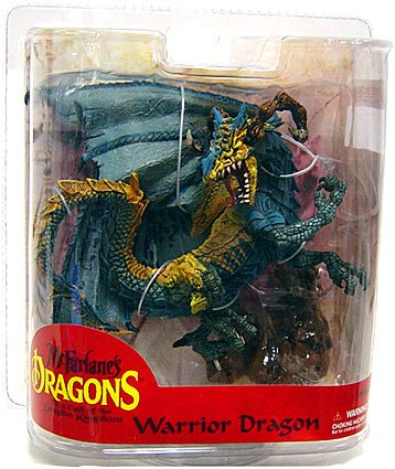 McFarlane Toys Dragons Series 7 Action Figure Warrior Dragon Clan [Exclusive Paint Variant] - Exclusive Mcfarlane Toy