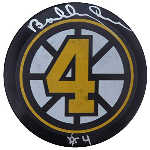 - Bobby Orr Autographed Boston Bruins Hockey Puck Beckett BAS #F98262