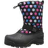 Northside Frosty Winter Boot (Toddler/Little Kid/Big Kid),Pink/Blue,4 M US Big Kid