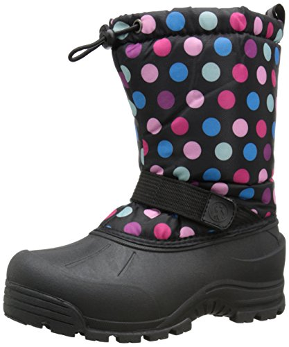 Northside Frosty Winter Boot (Toddler/Little Kid/Big Kid),Pink/Blue,5 M US Big Kid ()