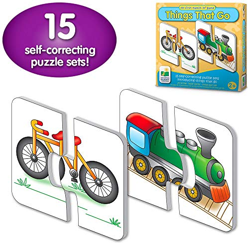 The Learning Journey: My First Match It - Things That Go - 15 Self-Correcting Vehicle Matching Puzzles (Renewed)