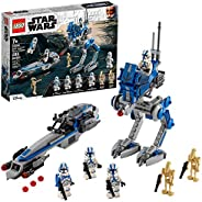 LEGO Star Wars 501st Legion Clone Troopers 75280 Building Kit, Cool Action Set for Creative Play and Awesome B
