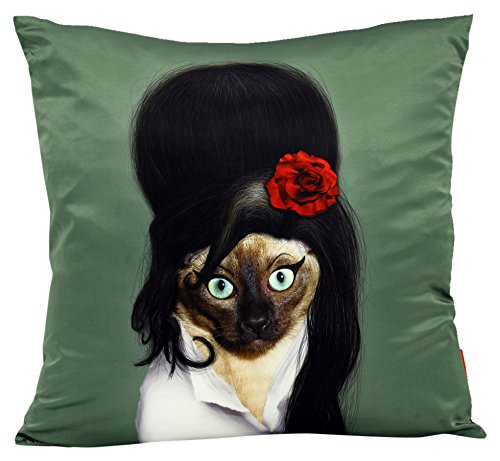 (Empire Art Direct Pets Rock Tattoo Decorative Throw Pillow)