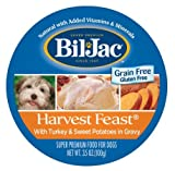 Bil-Jac Harvest Feast Turkey & Sweet Potatoes 3.5 Ounces Wet Grain Free Dog Food by Bil-Jac For Sale