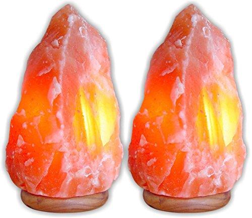 Himalayan Natural Air Purifier Salt Lamp Rock Crystal Tower