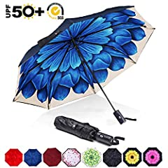 Make one of our best sellers your best defense against skin cancer! The ABCCANOPY UV-Blocker UV Compact Umbrella is small and light but huge in protecting you and your loved ones from harmful UV rays with a 50+ UPF. Your compact umbrella is c...