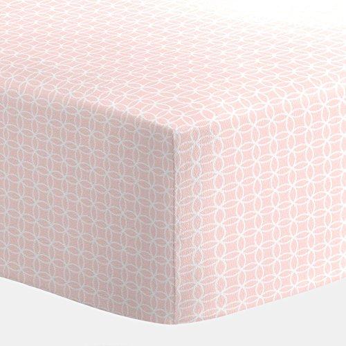 - Carousel Designs Pink Circles Crib Sheet