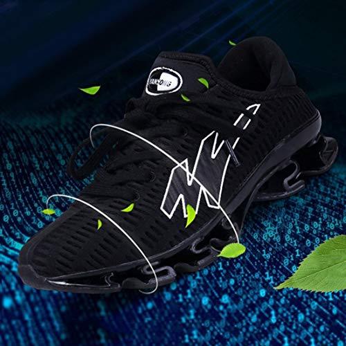 Chaussures Semelle dérapant Mode Sport à à Anti Course la de Chaussures de Hommes Hommes légers Hommes Creuse Creuses Respirants Confortables UpFwnX7Zq5