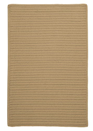 Simply Home Solid Rug, 5 by 8-Feet, Cuban Sand (Cuban Sand)