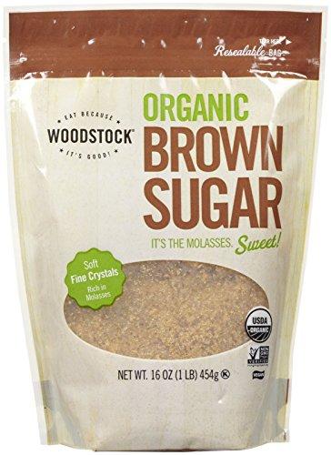 organic light brown sugar - 8