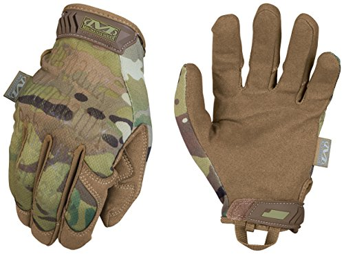 Ranger Leather Gloves - Mechanix Wear - MultiCam Original Tactical Gloves (Medium, Camouflage)