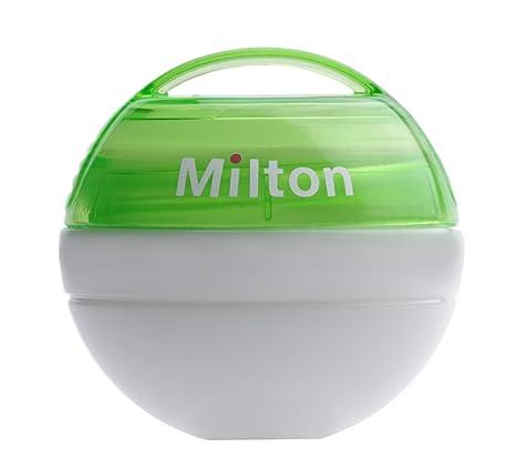 Milton Portátil Chupete Esterilizador + 10 Mini Esterilizantes ...