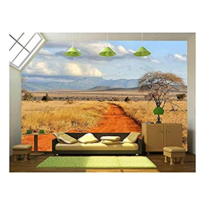 Beautiful Landscape with Tree in Africa, Quality Artwork, Incredible Creative Design