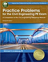 Practice Problems for the Civil Engineering PE Exam: A Companion to the Civil Engineering Reference Manual, 13th Ed