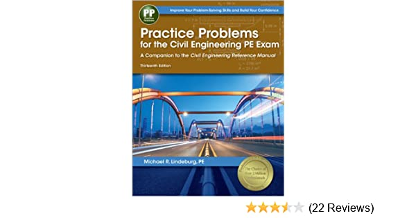 Practice problems for the civil engineering pe exam a companion to practice problems for the civil engineering pe exam a companion to the civil engineering reference manual 13th ed michael r lindeburg pe 9781591263821 fandeluxe Image collections