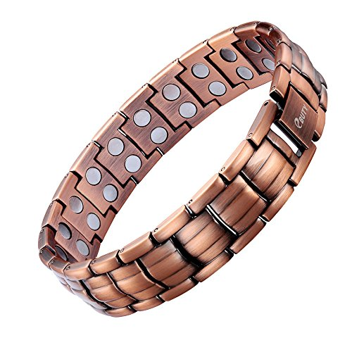 Copper Magnetic Bracelet Double Removal