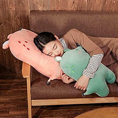 SXPC Plush Software Cartoon Down Cotton Mouse Pillow Doll Children's Gift Plush Toys,Black,70cm: Sports & Outdoors