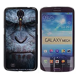 iKiki Tech / Estuche rígido - Monkey Gorilla Primate Animal Nature - Samsung Galaxy Mega 6.3 I9200 SGH-i527