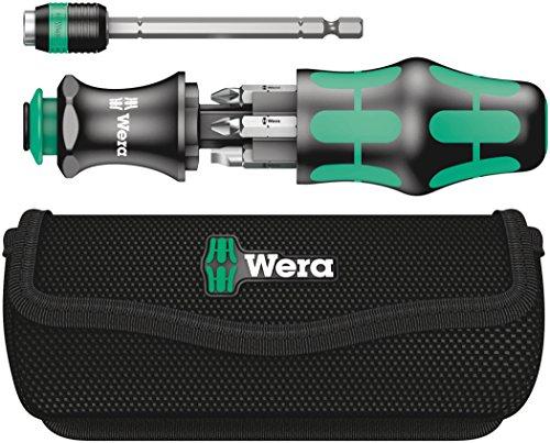 Wera Kraftform Kompact 20 7-In-1 Bitholding Screwdriver with Removable Bayonet Blade (SL/PH/PZ)