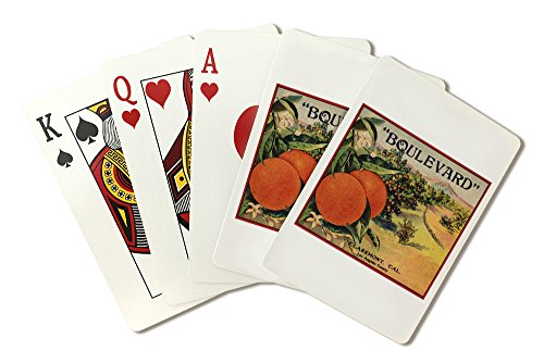 boulevard-brand-claremont-california-citrus-crate-label-playing-card-deck-52-card-poker-size-with-jo