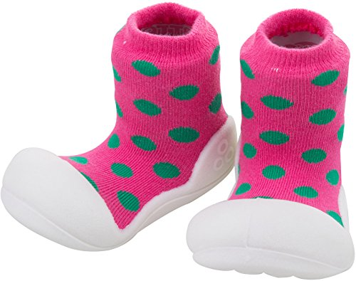 Box MARINE Pink Toddler Big Attipas Toe Shoe Polka ERqK1